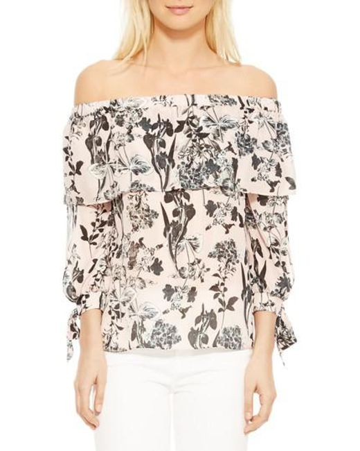 Parker Mandy Blouse in Pearl Paradise