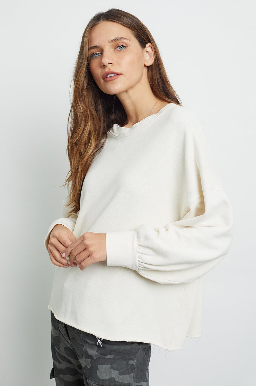 Rails Reeves Sweater in Ivory