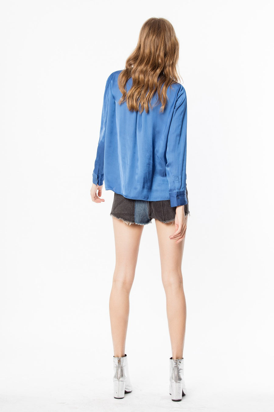 Zadig & Voltaire Tink Satin Tunic