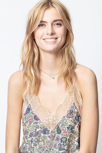 Zadig & Voltaire Christy Print Mandala Top