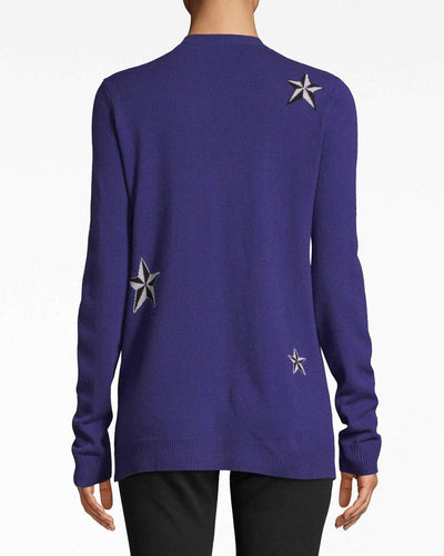 Nicole Miller Star Cashmere Top