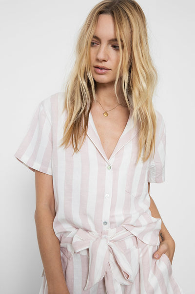 Rails Zuma Top in Petal Stripe