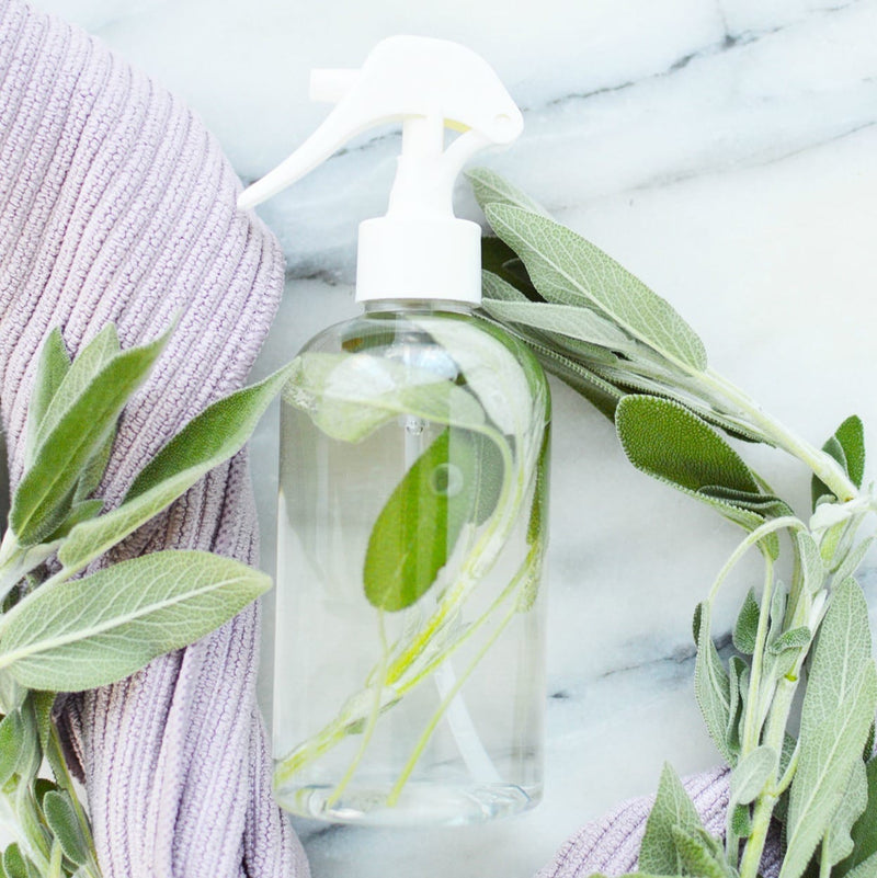 KIRRLiving: Homemade Cleaning with Sage Infused Vinegar Spray