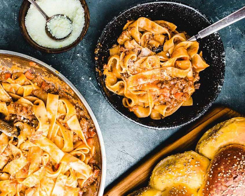 KIRR Eats: Italian Bolognese with a twist!