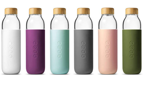 soma glass water bottle eco-friendly