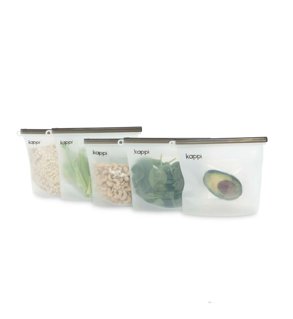 Reusable Silicon Ziplock Bags 1500ml - KIRR