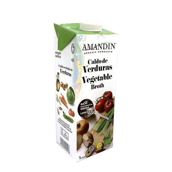 Amandin Soups & Broths Vegetable Broth (1L)