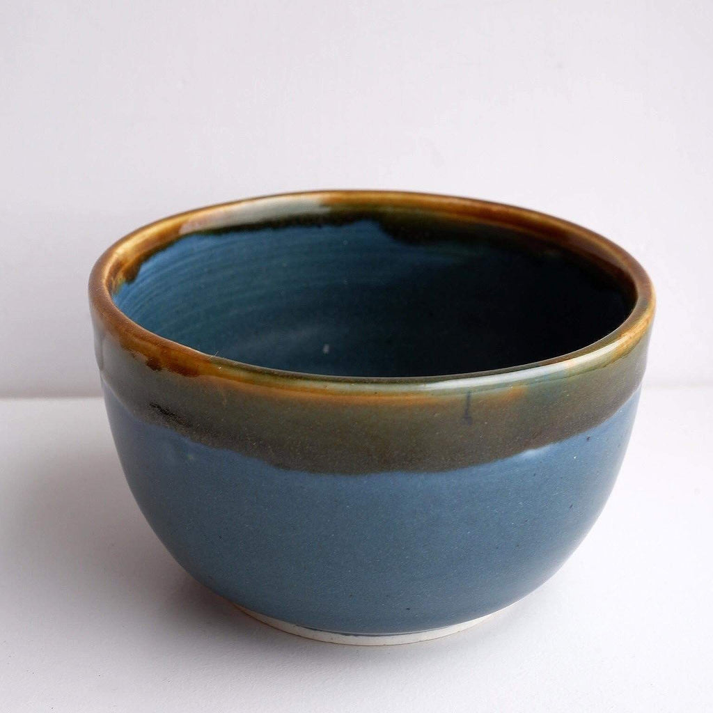 AW.STUDIO Tableware Blue & Yellow Bowl