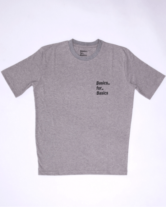 Basics for Basics Tops Basic(s) Icon Tee In Small Print