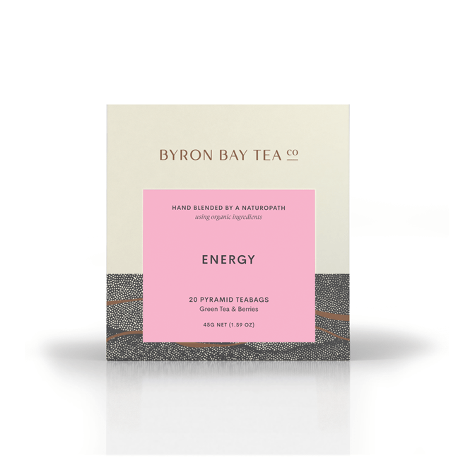 Byron Coffee & Tea Organic Energy Teabag Box (20tb)
