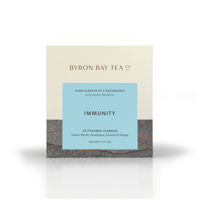 Byron Coffee & Tea Organic Immunity Teabag Box (20tb)