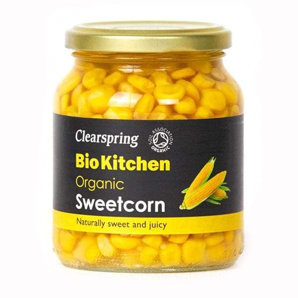 Clearspring Canned/ Packaged Food Bio Kitchen Organic Sweetcorn (350g)