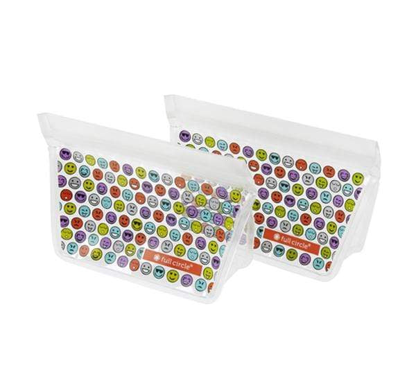 Full Circle Food Storage Ziptuck Kids (Emoji)