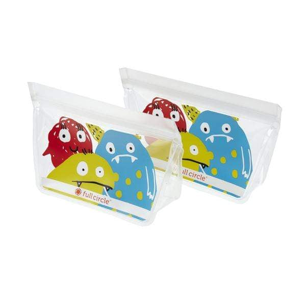 Full Circle Food Storage Ziptuck Kids (Monster)