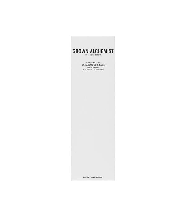 Grown Alchemist Shaving Shaving Gel (Sandalwood, Sage) (75ml)