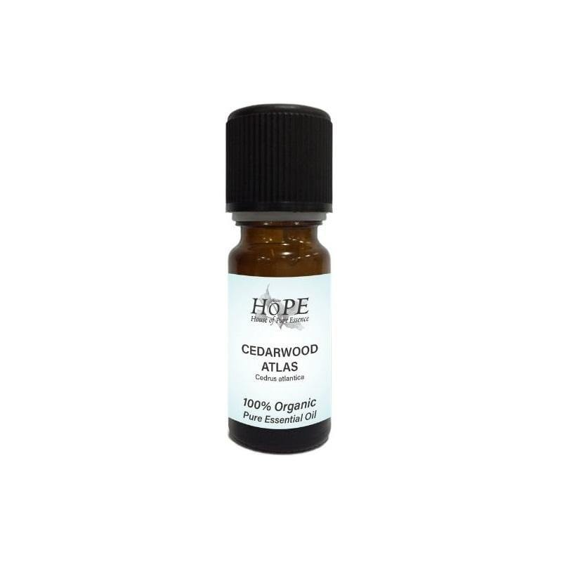 HoPE Aromatherapy Organic Cedarwood Atlas Essential Oil (10ml)