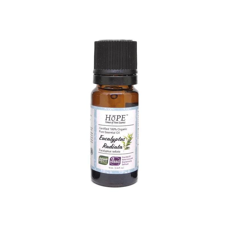 HoPE Aromatherapy Organic Eucalyptus Radiata Essential Oil (10ml)