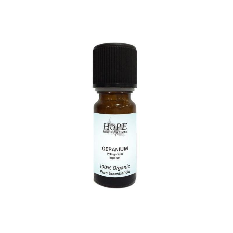HoPE Aromatherapy Organic Geranium Essential Oil (10ml)
