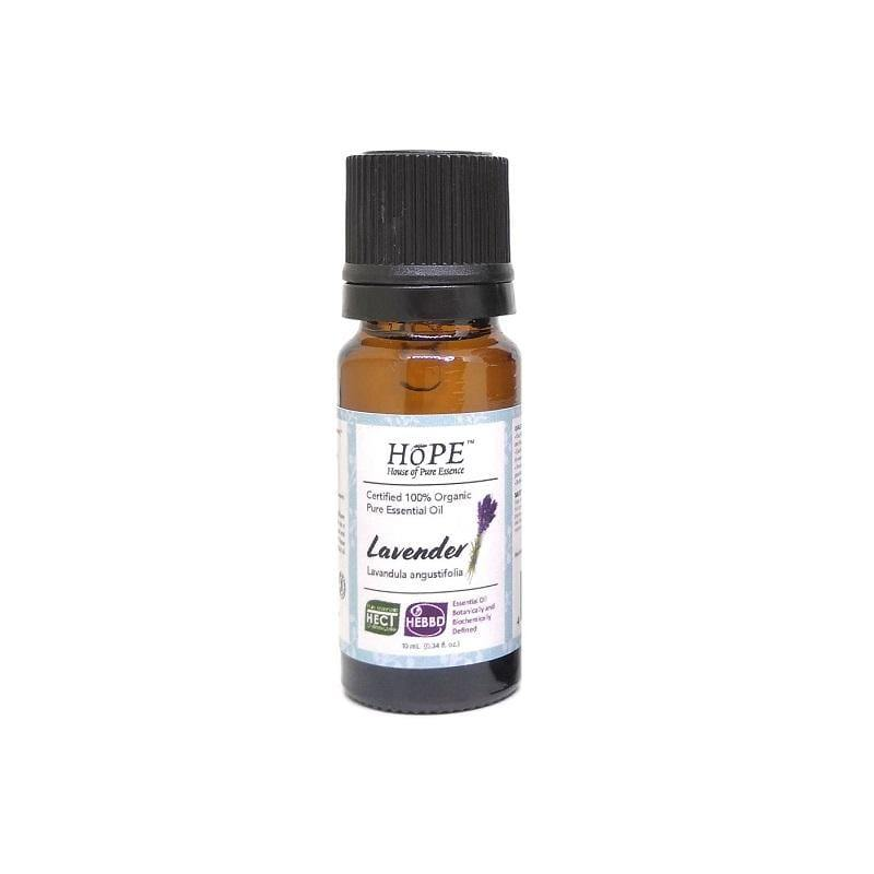 HoPE Aromatherapy Organic Lavender Essential Oil (10ml)