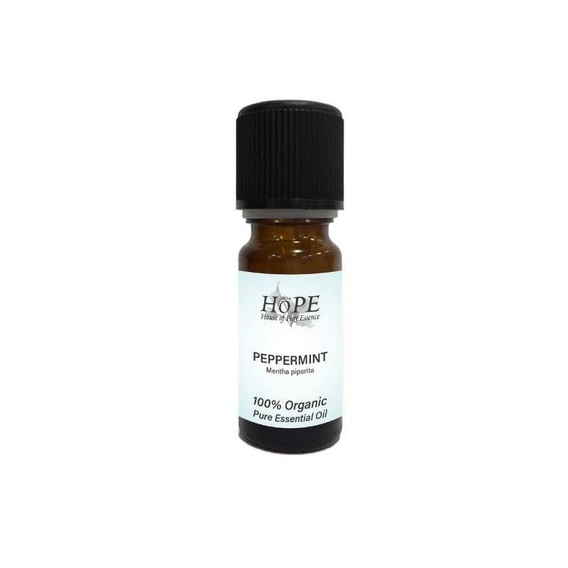 HoPE Aromatherapy Organic Peppermint Essential Oil (10ml)