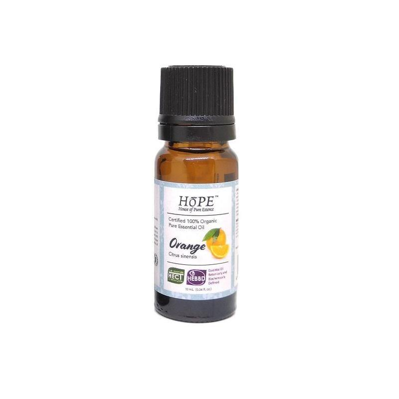 HoPE Aromatherapy Organic Sweet Orange Essential Oil (10ml)