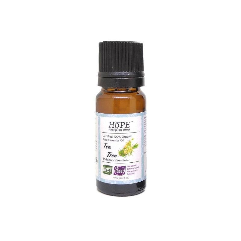 HoPE Aromatherapy Organic Tea Tree Essential Oil (10ml)