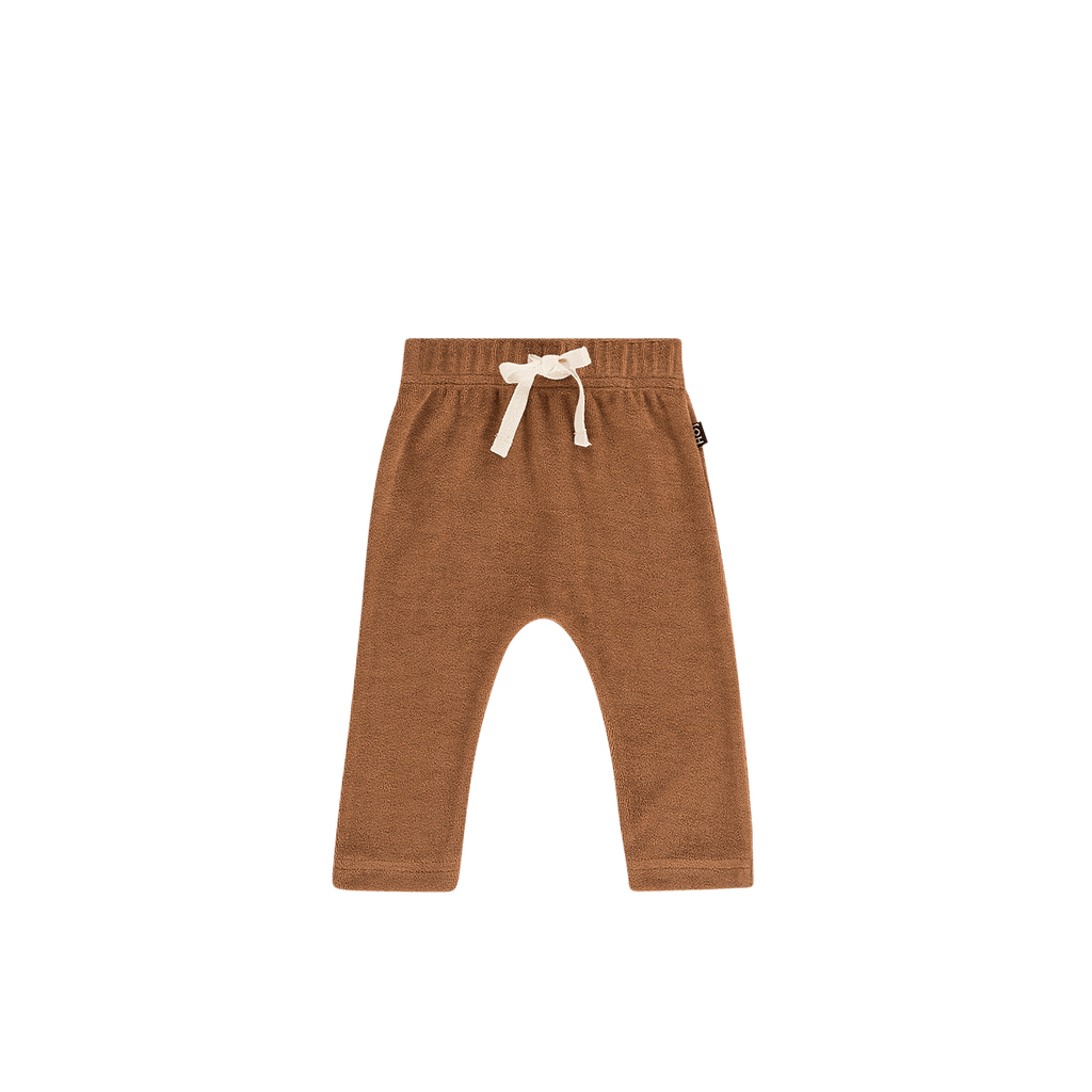 House of Jamie Bottoms Baby Pants Toffee (Terry)