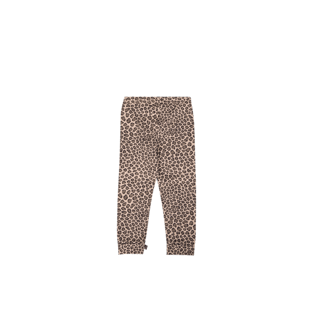 House of Jamie Bottoms Knee Pad Leggings Caramel Leopard