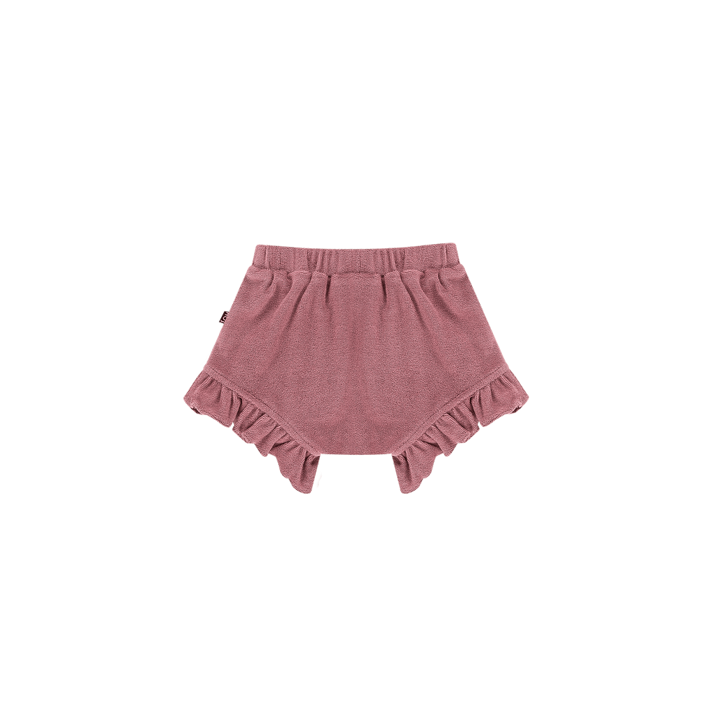 House of Jamie Bottoms Ruffled Shorts Orchid (Terry)