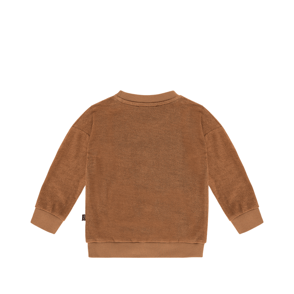 House Of Jamie cardigans & sweaters Crewneck Sweater Toffee Leo