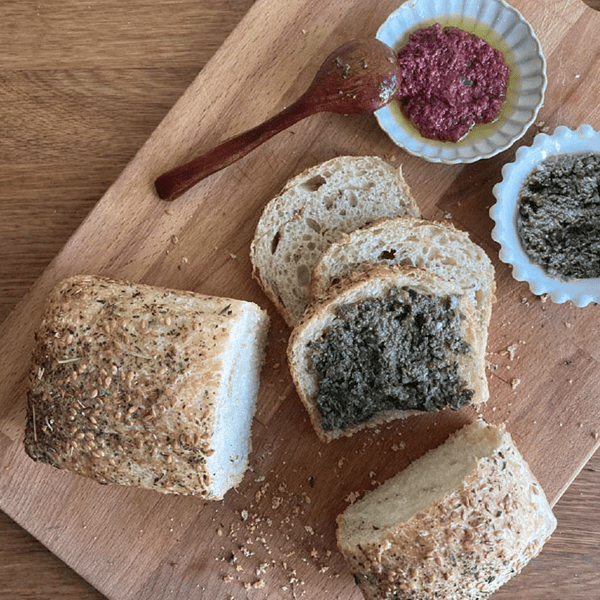 Into The Wild Bakery Flaxseed & Mix Herbs Sourdough Toast Bread Set