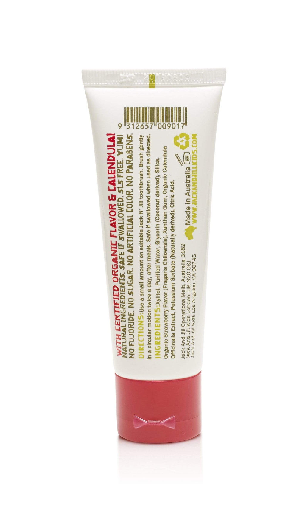 Jack N' Jill Oral Care Jack N' Jill Toothpaste (Strawberry)