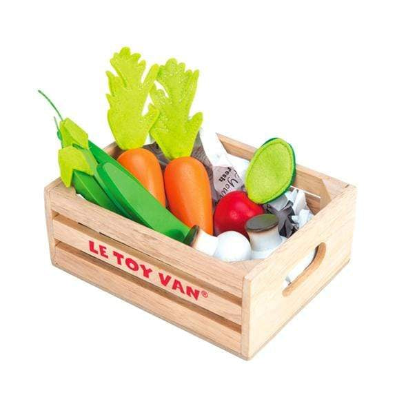"Le Toy Van Wooden Toys Vegetables '5 A Day"" Crate"