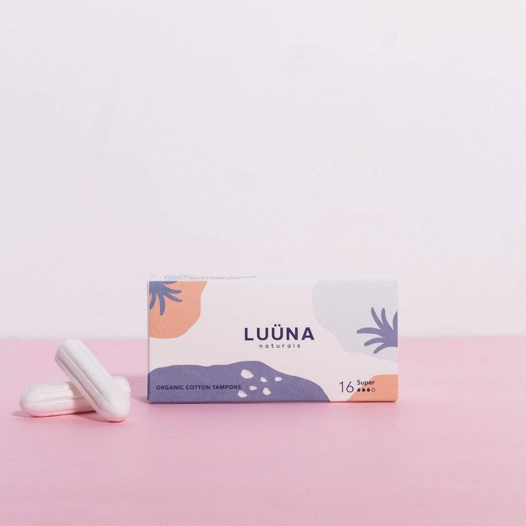 Luuna Feminine Products Organic Tampons Super (16 pcs)