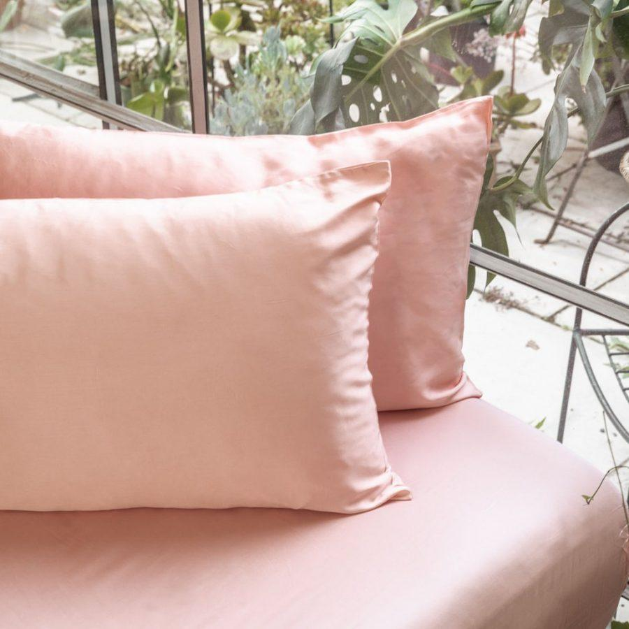 Naked Lab Bedding Bamboo Pillowslip (Pia's pink)