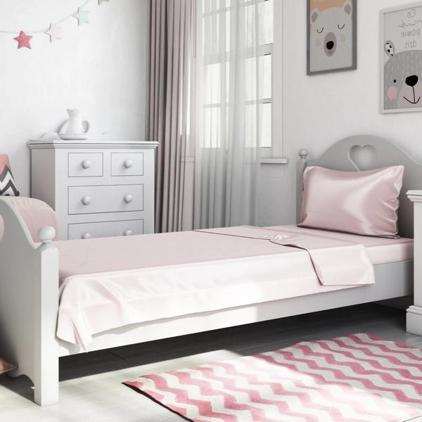 Naked Lab Bedding Kid's Bamboo Bedding Set (Pia's pink)