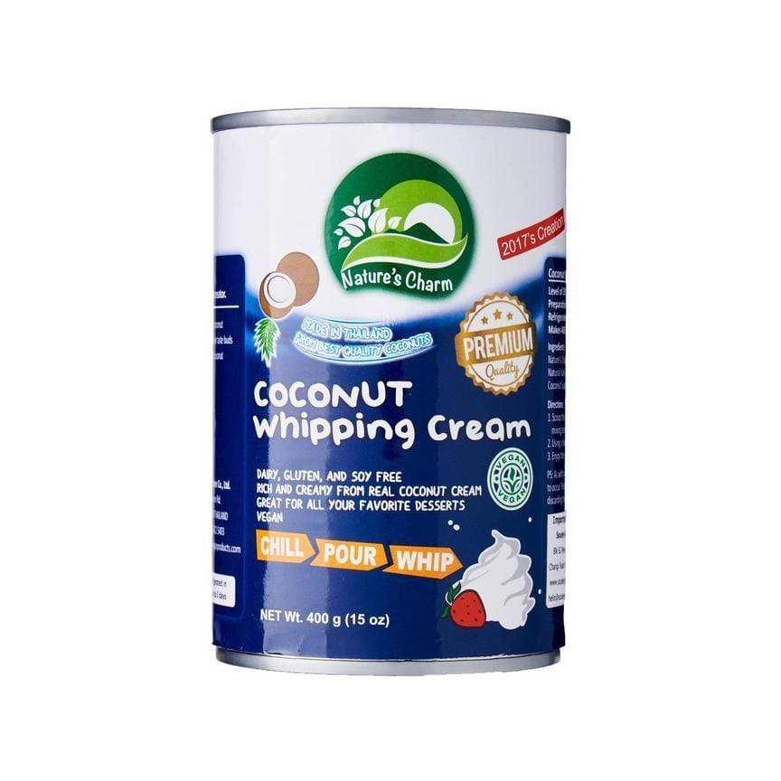 Nature's Charm Baking & Desserts Coconut Whipping Cream