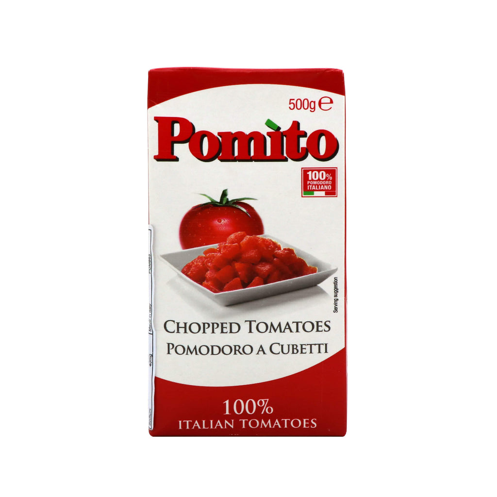 Pomito Canned/ Packaged Food Tomato Strained Crushed (500g)