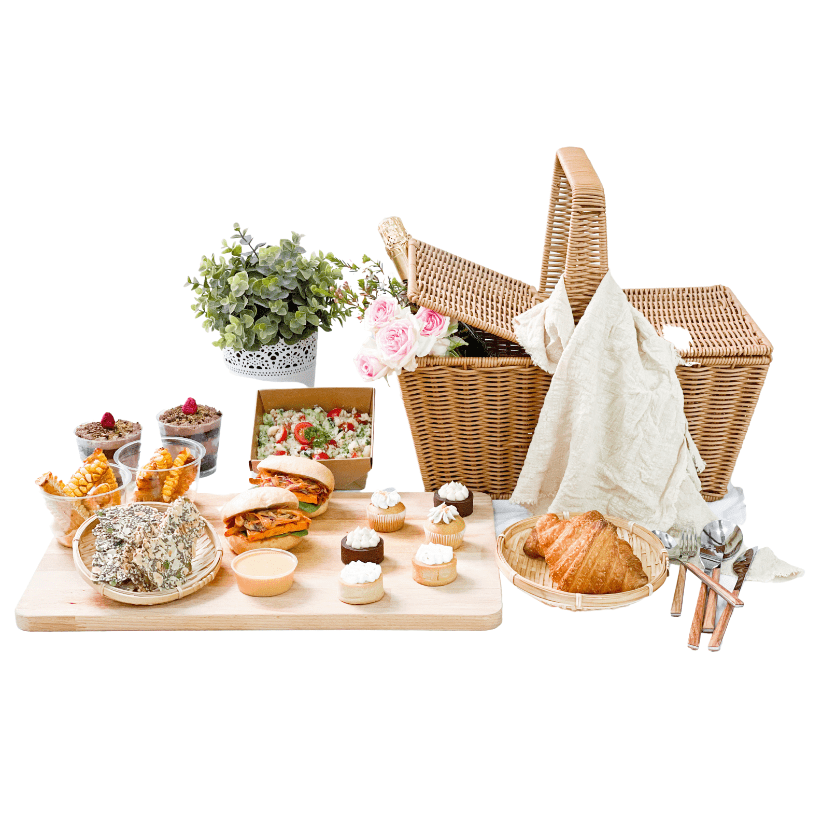 The Cakery Easter Picnic Basket For Two