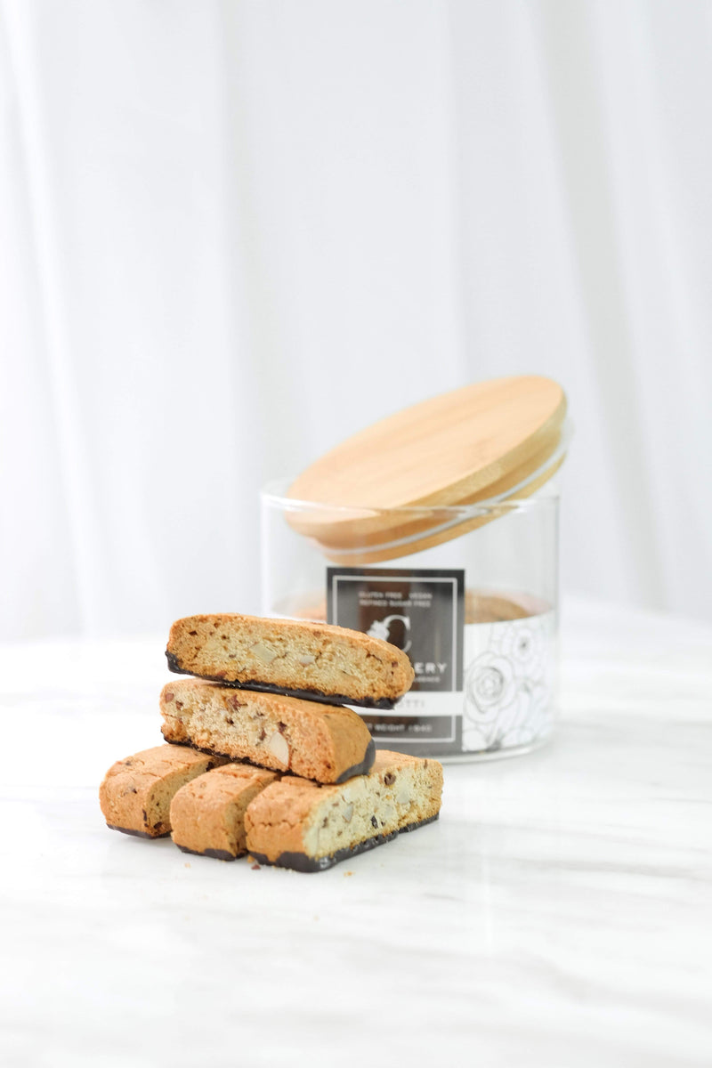 The Cakery Healthy Snacks Chocolate Biscotti
