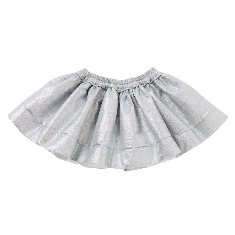 The House of Fox Bottoms Celebrate Pocket Skirt In Silver