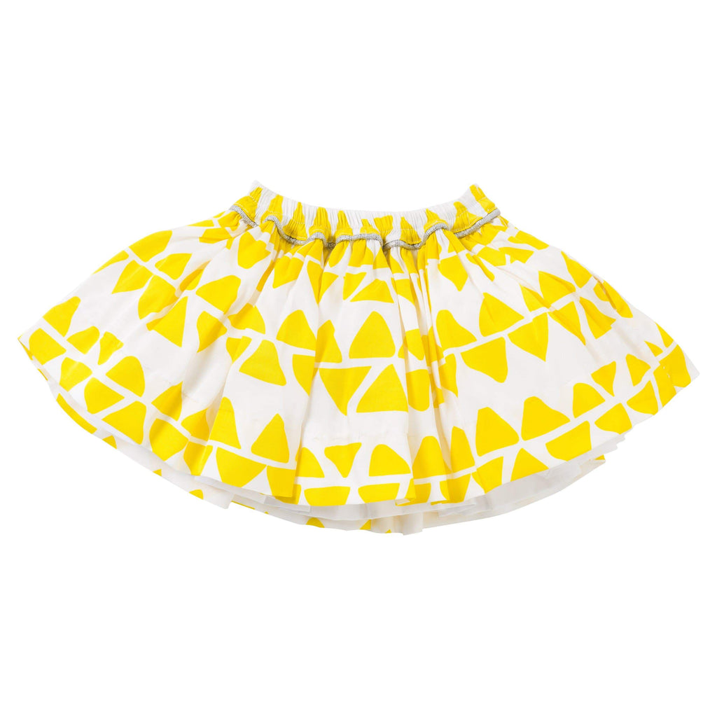 The House of Fox Bottoms Celebrate Pocket Skirt In Triangle Print
