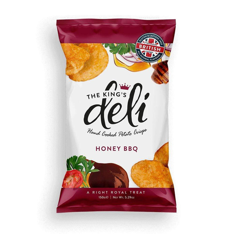 The King's Deli Healthy Snacks Honey BBQ (150g)