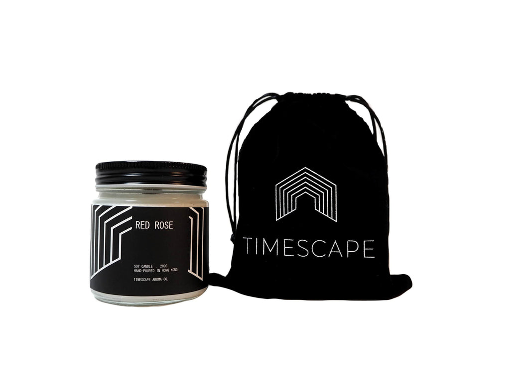 Timescape Aroma Candles Red Rose (Light Floral)