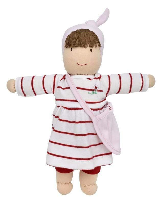 Under The Nile Soft Toys & Dolls JILL DRESS UP DOLL - RED AND WHITE