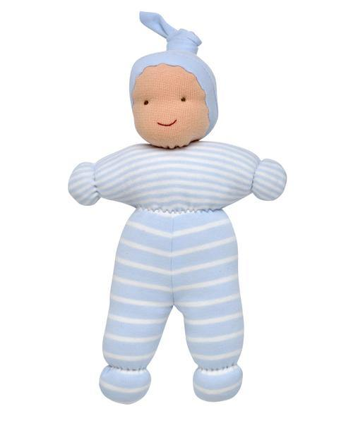 Under The Nile Soft Toys & Dolls Organic Baby Ollie Boy Doll