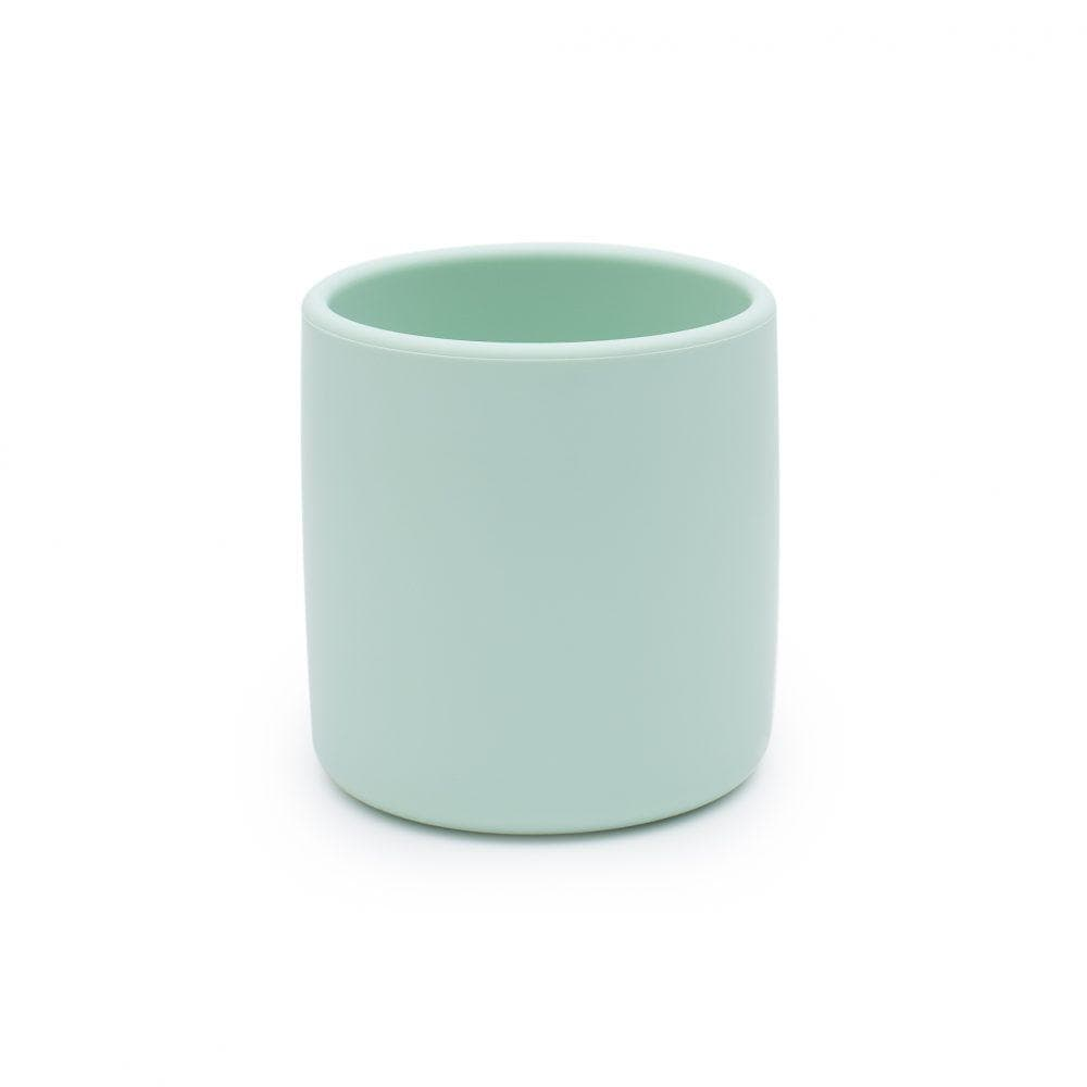 We Might Be Tiny Kid's Drinkware Grip Cup - Minty green