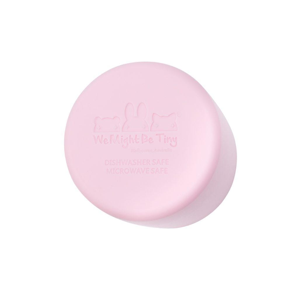 We Might Be Tiny Kid's Drinkware Grip Cup - Powder Pink