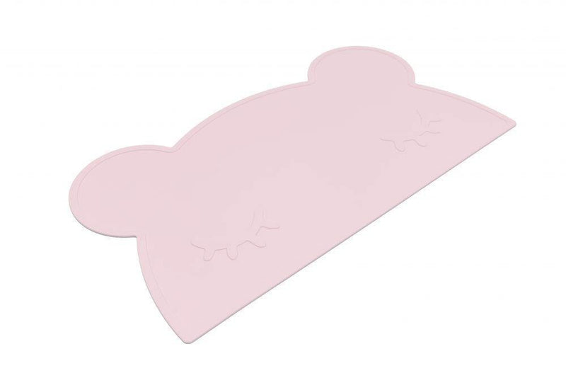 We Might Be Tiny Kid's Tableware Bear Placie In Powder Pink