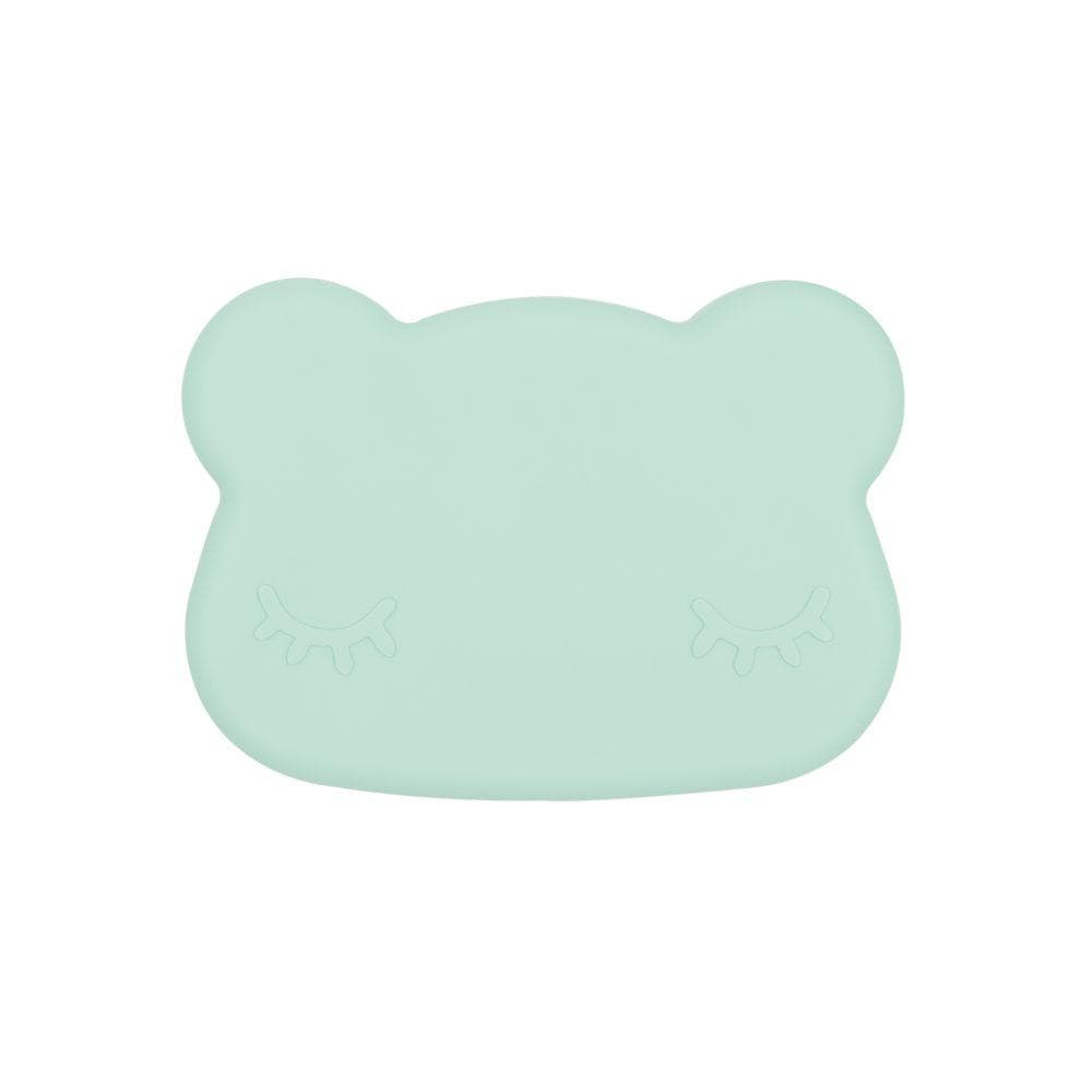 We Might Be Tiny Kid's Tableware Bear Snack Box In Minty Green